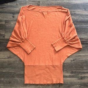 Tops - Orange Tunic Size S/M